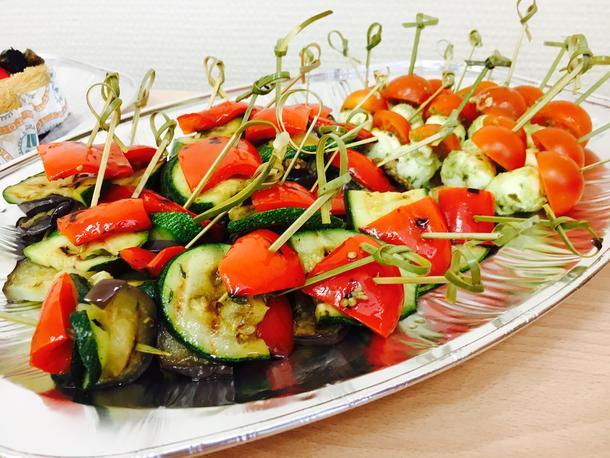 Террин из овощей