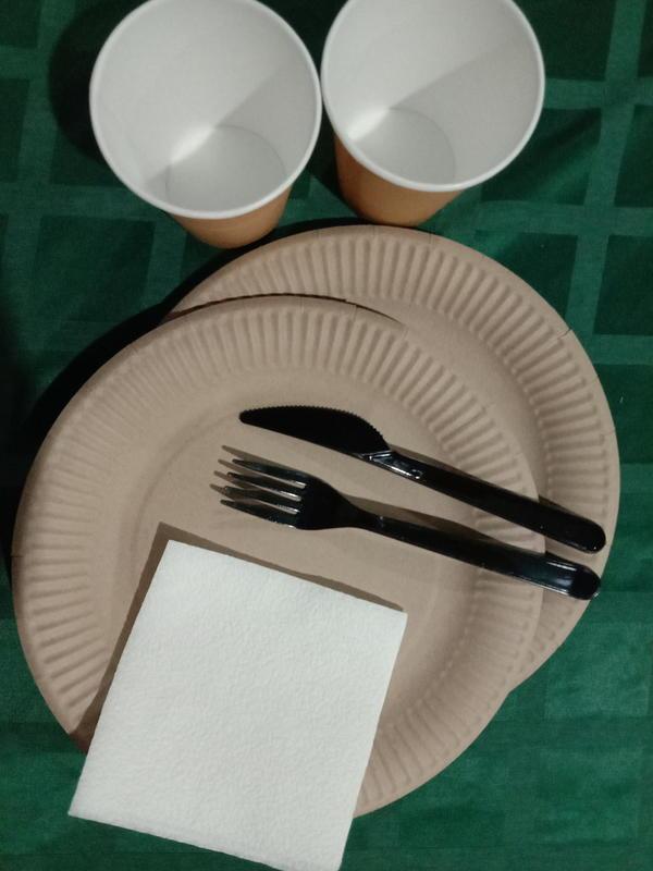 Одноразовая посуда Крафт-Премиум